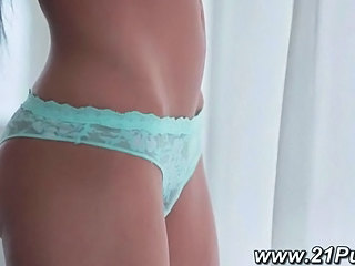 Amazing Natural Panty Teen