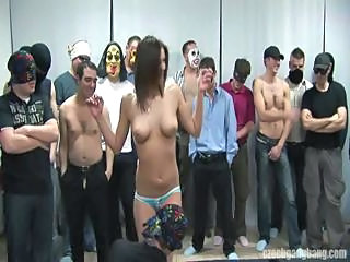Amateur Bus Gangbang Party Teen