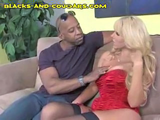 Interracial MILF Stockings