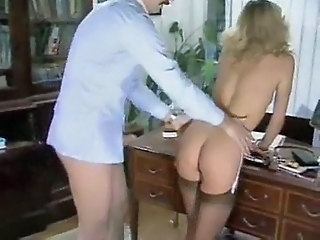 Ass MILF Office Secretary Stockings Vintage