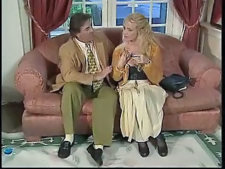 Blonde European German MILF Pornstar Vintage