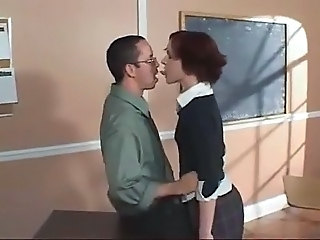 Kissing School Student Teacher Teen