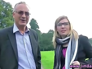 Daddy Glasses Older Old and Young Outdoor Public Teen