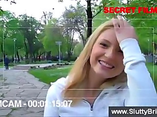 Amateur Blonde European Outdoor Pov Public Teen