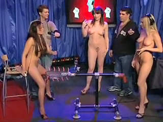 Pornstars Testing A Fucking Machine On Howard Stern Sex Tubes