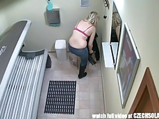 Hidden camera in public tanning bed tubes
