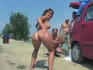 Ass Beach Daughter Nudist Old and Young Outdoor Public Teen