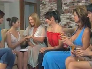Amazing Bus Drunk Lesbian MILF Party Teen