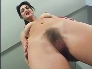 Close up Hairy Mature Shaved