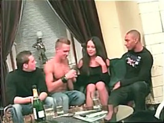 Drunk Gangbang Party Russian