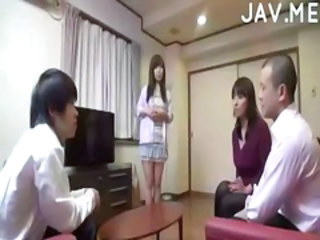 Asian Bus Daughter Family Japanese