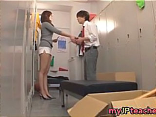 Amazing Asian Japanese Legs MILF Teacher