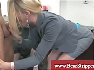 Blowjob CFNM Office Secretary