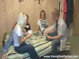 Amator Joc Sex in grup Swingers Adolescenta
