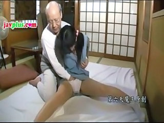 Asian Daddy Daughter Japanese Old and Young Panty Teen