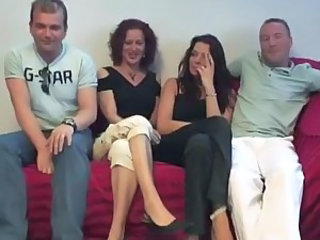 Amateur European Groupsex Swingers Wife