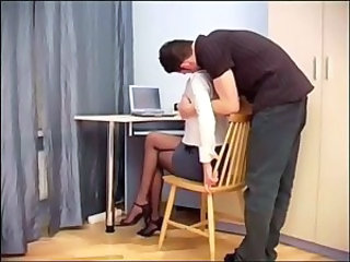 Legs Office Pantyhose Secretary
