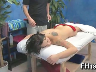 Cute Massage Tattoo Teen