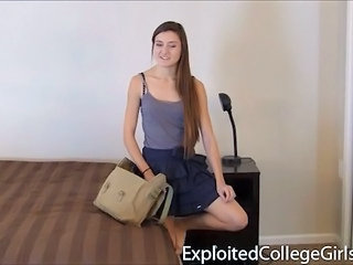 Long hair Skirt Student Teen