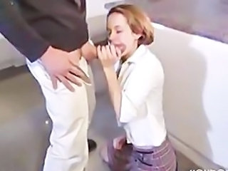 Big cock Blowjob Clothed Teen Young