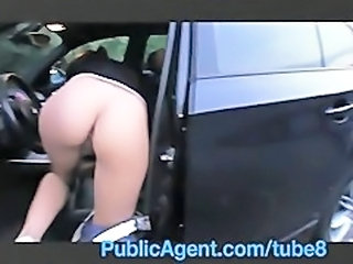 Amateur Ass Car Public