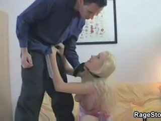 Blonde Forced Hardcore Teen