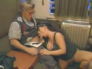 Big Tits Blowjob Clothed European German MILF