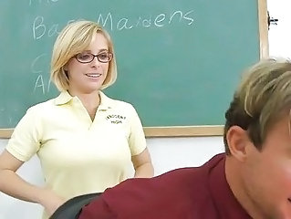 Cute Glasses School Student Teacher Teen