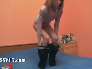 Maigre Strip-teaseuse Ados Webcam