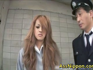 Asian Babe Cute Japanese Long hair Prison