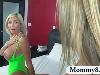 Amazing Big Tits Mature MILF Mom