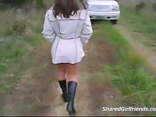 Amateur Girlfriend Outdoor