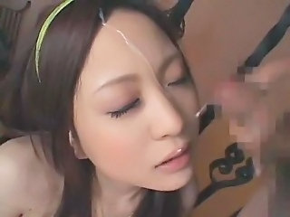 Asian Cumshot Facial Cute Japanese Teen