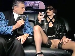 Car Drunk European German MILF Stockings