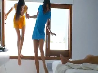 Legs Russian Teen Threesome