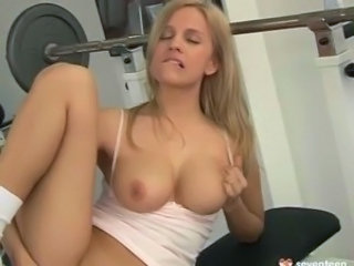 Babe Masturbating Natural Sport Teen