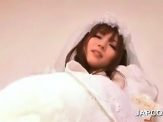 Asian Babe Bride Cute Japanese