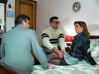 French threesome fun