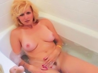 Amazing Bathroom Masturbating MILF