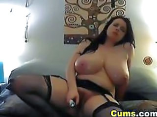 Big Tits Chubby Masturbating Natural Solo Teen Toy Webcam