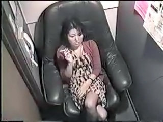 Asian  Smoking Voyeur