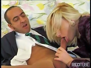 Blowjob European French MILF