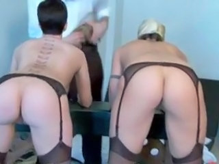 Ass Slave Stockings