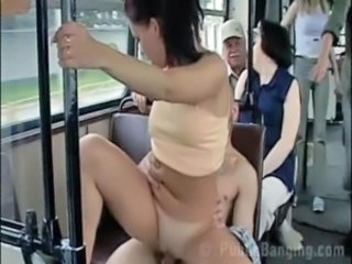 Amazing Bus Public Riding Teen