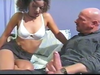 Babysitter Daddy Old and Young Teen Threesome
