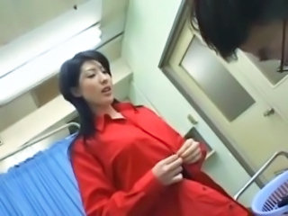 Asian Doctor Japanese MILF Stripper