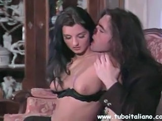 European Italian Kissing MILF