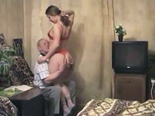 Daddy Daughter Lingerie Old and Young Russian