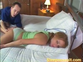 Panty Sleeping Teen