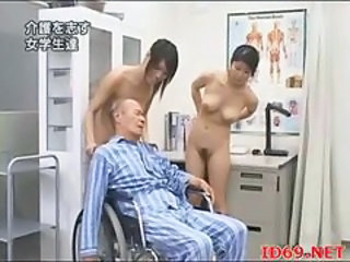 Asian Daddy Japanese Nurse Old and Young